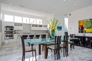 现代简约风格经济型140平米以上快餐桌图片