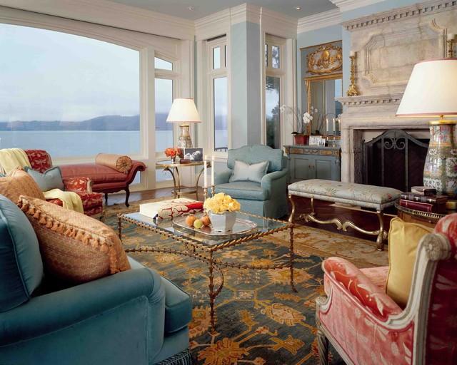 现代欧式风格富裕型140平米以上功能沙发效果图