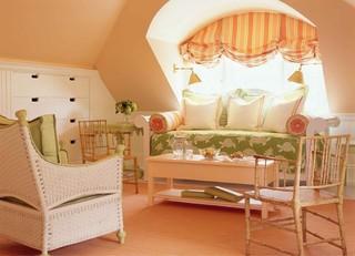 现代欧式风格富裕型140平米以上布艺沙发床效果图