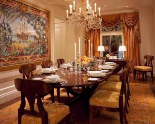 房间欧式风格富裕型140平米以上厨房餐厅一体效果图