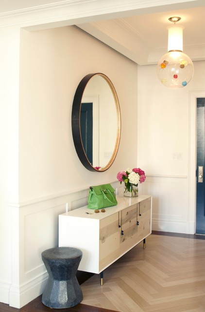 欧式风格家具富裕型130平米三室两厅玄关柜图片