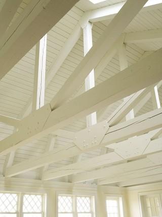 混搭风格客厅豪华型140平米以上主卧室吊顶设计图