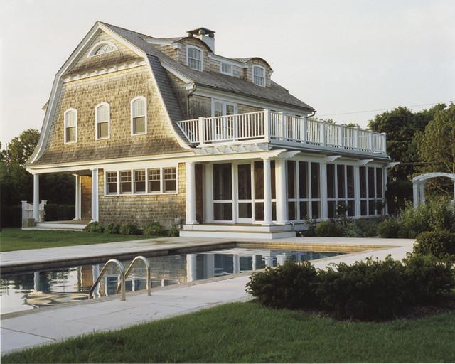 混搭风格豪华型140平米以上别墅游泳池效果图
