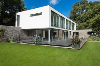 现代简约风格厨房经济型140平米以上家庭小花园设计