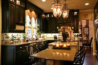 欧式风格客厅豪华型140平米以上家庭餐桌图片