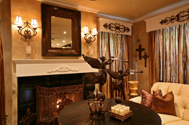 房间欧式风格豪华型140平米以上壁炉效果图