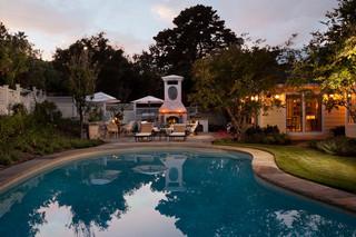 欧式风格家具豪华型140平米以上别墅游泳池装修