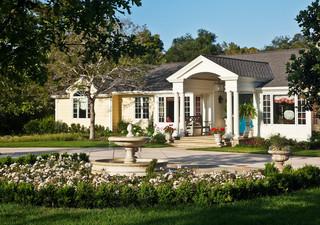 现代欧式风格豪华型140平米以上室内入户花园效果图