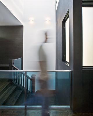 简约风格卧室140平米以上家庭过道设计