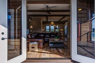 新古典风格富裕型140平米以上真皮沙发效果图