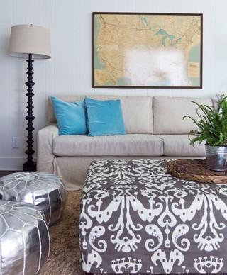 东南亚风格客厅经济型140平米以上实木沙发客厅效果图