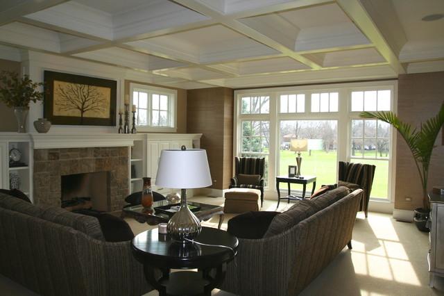 欧式风格客厅富裕型140平米以上名牌布艺沙发效果图