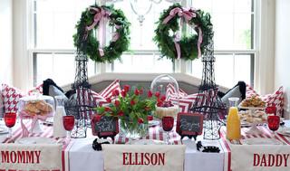 混搭风格客厅富裕型130平米家庭红木家具餐桌图片