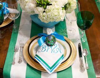 混搭风格富裕型130平米圆形餐桌图片