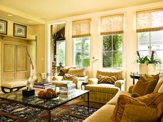 田园风格整套富裕型140平米以上单人沙发床图片