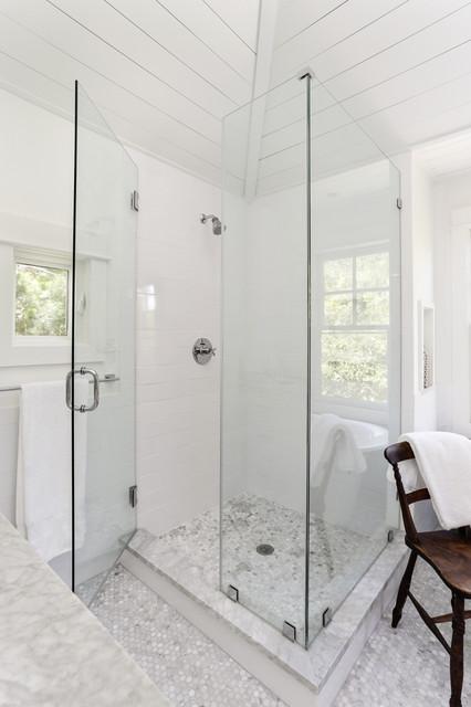 中式简约风格140平米以上整体淋浴房设计
