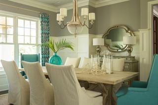 混搭风格客厅富裕型140平米以上休闲餐厅设计图纸