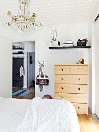北欧风格舒适壁纸旧房改造家装图片