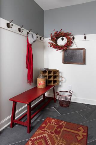 混搭风格客厅富裕型140平米以上储藏室装潢
