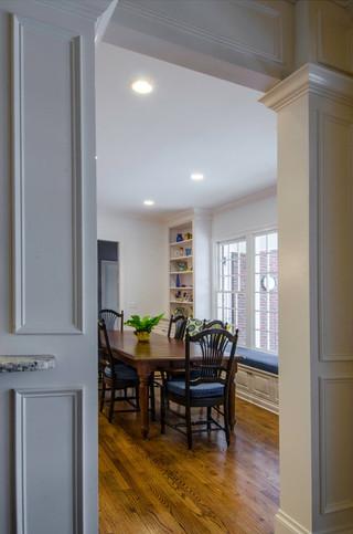 混搭风格客厅富裕型140平米以上现代客厅隔断装修效果图
