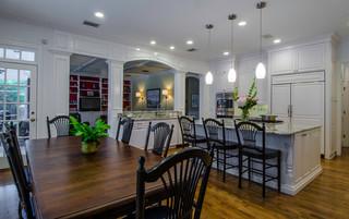 混搭风格富裕型140平米以上客厅与餐厅隔断效果图