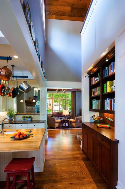 田园风格饭店富裕型140平米以上客厅过道吊顶设计图