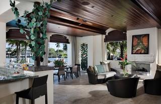 东南亚风格家具富裕型140平米以上小客厅设计