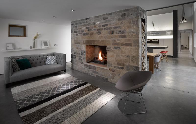 欧式风格时尚客厅旧房改造家装图片