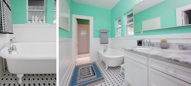 混搭风格单身公寓设计图另类卧室白色简欧风格1平米卫生间改造