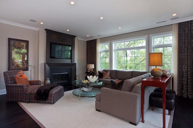 北欧风格三层半别墅欧式奢华灰色窗帘2013欧式客厅装修效