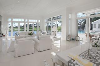现代欧式风格2013别墅唯美白色简欧风格效果图
