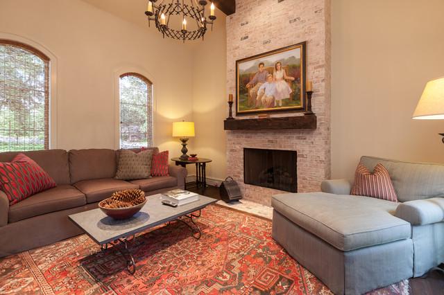 欧式风格卧室三层独栋别墅唯美原木色家居交换空间电视背景墙装修效果图