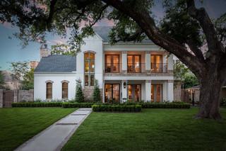 现代欧式风格200平米别墅唯美原木色家居装修效果图