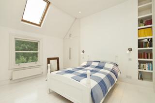 地中海风格2014年别墅大气白色20平米卧室装修效果图