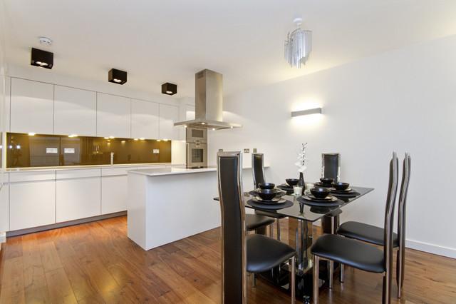 地中海风格2013别墅及大气白色简欧风格家用餐桌图片