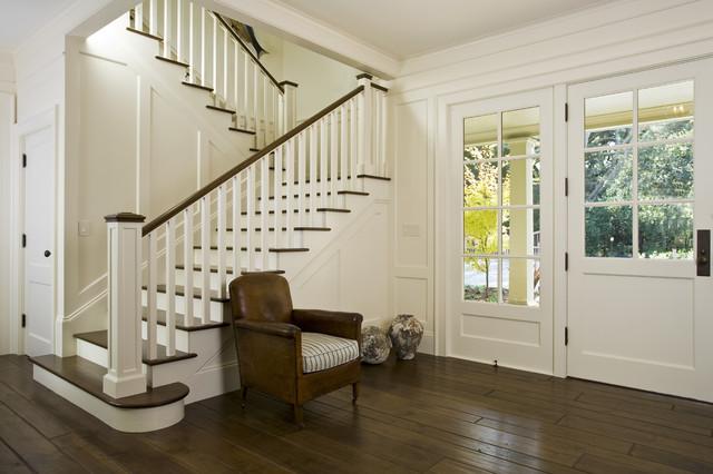 欧式风格一层半小别墅唯美白色家具复式楼楼梯装修图片图片