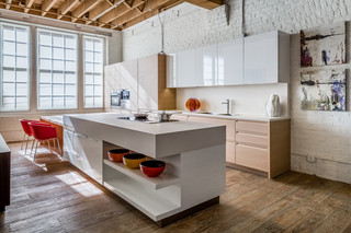 美式风格40现代简洁白色卧室2平米厨房效果图