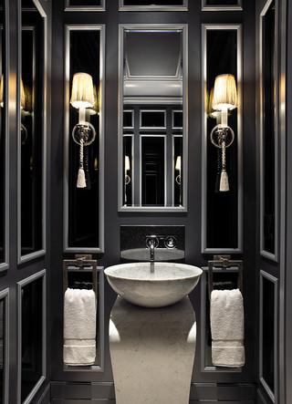 美式风格卧室三层别墅梦幻白色客厅1m卫生间装修图片