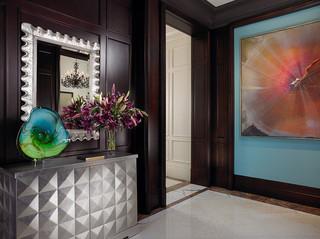 美式风格客厅一层别墅梦幻家具白色卧室装修图片