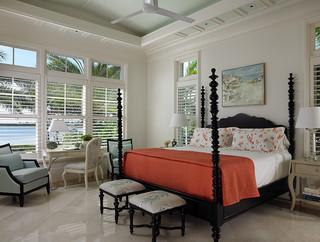 美式风格客厅2014年别墅梦幻白色厨房设计图