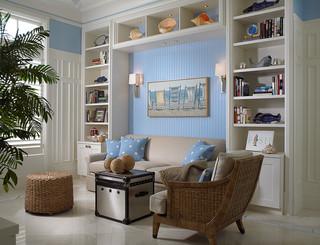 现代美式风格300平别墅梦幻白色简欧风格装修图片