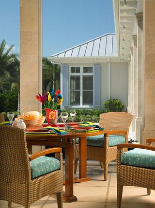 美式风格2层别墅梦幻家具白色厨房装修效果图