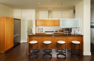 现代欧式风格三层平顶别墅豪华别墅原木色家居装修效果图