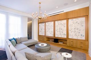 日式风格小三居室舒适白色欧式 客厅装潢