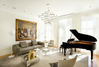 日式风格客厅三居室舒适白色客厅2013家装客厅设计图