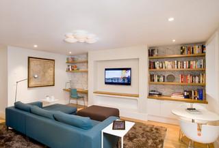 日式风格客厅小三居室舒适白色15平米客厅装潢