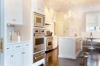 欧式风格家具二居室乐活白色简欧风格2013家装厨房效果图