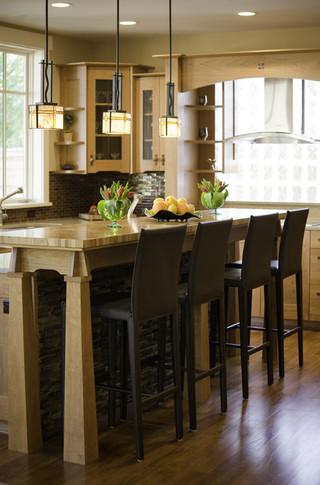 现代美式风格一层别墅及阳台实用白色地毯2014厨房吊顶效果图
