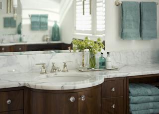 欧式风格卧室三层小别墅稳重白色欧式家具2m卫生间装修图片