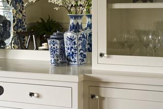 现代简约风格餐厅二居室装饰简洁白色室内设计图